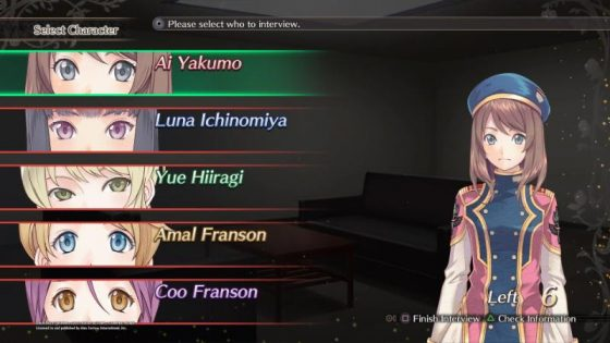 darkrose New Dark Rose Valkyrie Opening Movie and Interview System Screenshots!