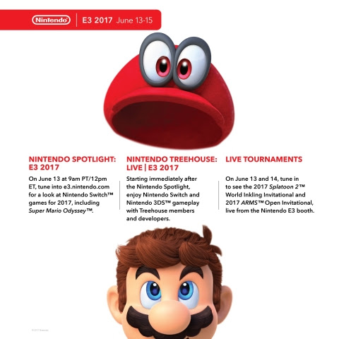 E3mario Various Tournaments and Nintendo Switch Head to E3 2017! Here We Goooo!