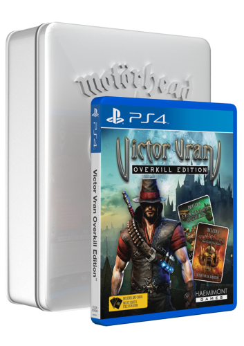 MH_TinBox_Upright_PS4_3D-353x500 Wired Productions Launches Exclusive Store With Victor Vran; More Details Inside!