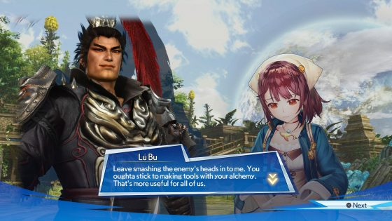 image002 Character Interaction Systems Revealed, Trailer and More for Warriors All-Stars!
