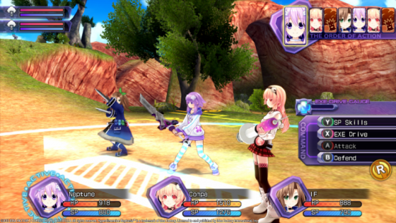 IFteitc Hyperdimension Neptunia Re;Birth series now available for play and purchase on Twitch!