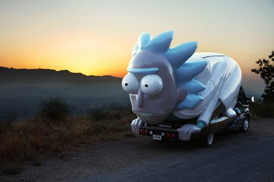 rickandm-560x373 Hit the Road with Rick and Morty!
