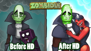 Zombidle: Remonstered Coming to Steam TODAY!