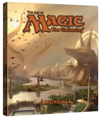 ArtOfMagicTheGathering-Amonkhet-3D-419x500 The Art of Magic: The Gathering New Hardcover Art Book Edition Debuting This Summer