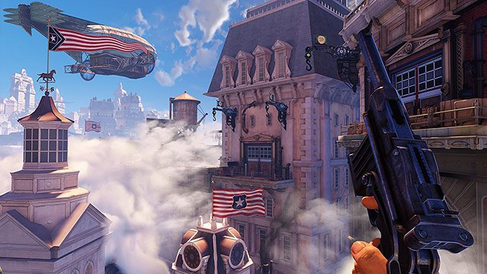 BioShock-Infinite-game-Wallpaper-2-700x394 Top 10 Steampunk Video Games [Best Recommendations]