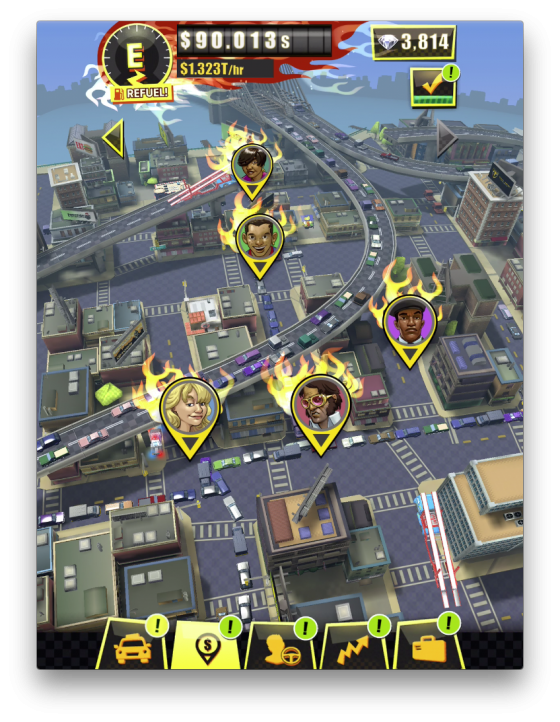 Crazy_Taxi_Gazillionaire_-_Icon_1496228050-560x560 SEGA Launches Crazy Taxi Gazillionaire into the App Stores!