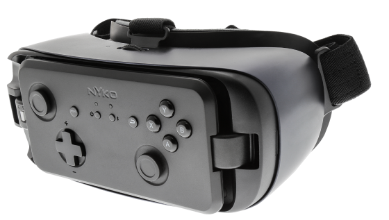 Gear-VR-Controller_attached-560x317 Nyko Now Official Samsung Licensee, Reveals Wireless Gaming Controller for Gear VR with Controller