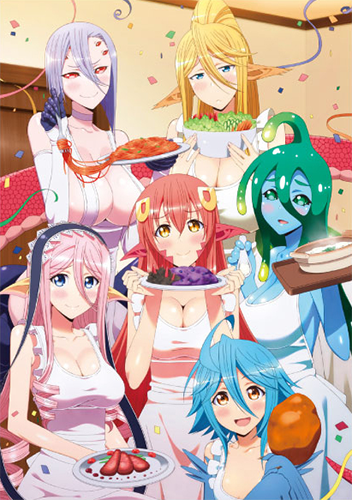 Monster-Musume-no-Iru-Nichijou-wallpaper-352x500 [Thirsty Thursday] Top 5 Everyday Life with Monster Girls Ecchi Scenes Vol. 2