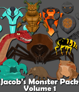 "MonsterPackLargeBanner SmileBoom announce ""Jacob's Monster Pack Volume 1"" DLC release"