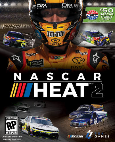 NASCARHEAT2_COVER-405x500 'NASCAR Heat 2' to Include $50 Voucher for Speedway Motorsports NASCAR-sanctioned Events!