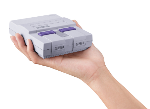 supernintendo Now You're Playing with Super Power! Nintendo Announces Super NES Classic Edition!