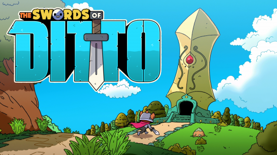 The-Swords-of-Ditto-Key-Art_ALT-560x315 Devolver Digital Announces The Swords of Ditto - New RPG for PS4 & PC!