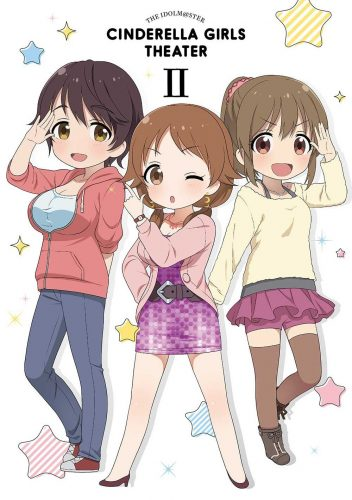 The-iDOLM@STER-Cinderella-Girls-Gekijou-2-dvd-352x500 Weekly Anime Ranking Chart [06/14/2017]