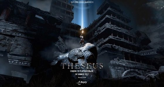 theseus-560x296 Forge Reply Announces Mythical Action-Adventure Game 'Theseus' to Launch First on PlayStation®VR