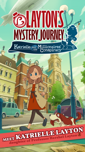 Layton's Mystery Journey: Katrielle and the Millionaires' Conspiracy Launches Today