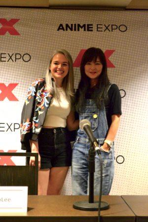 AmaLee and Mari Iijima AX 2017 Press Conference