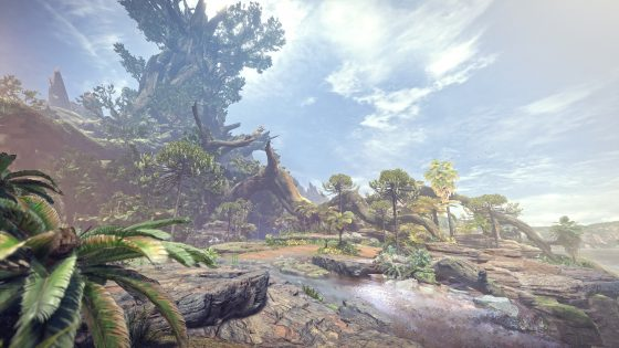 MHWorld_E3_art2-560x315 Step inside Monster Hunter: World in the brand new Ancient Forest gameplay video!