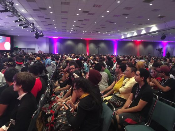 Anime-Expo-2017-Persona-5-Crowd-560x420 Persona 5 Voice Actor Panel at Anime Expo 2017