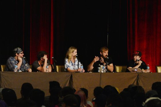 Anime-Expo-2017-RWBY-Merchandise-560x373 Official RWBY Panel & Screening at Anime Expo 2017