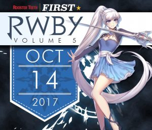 Official RWBY Panel & Screening at Anime Expo 2017