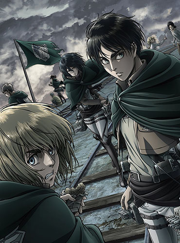 Attack-on-Titan-dvd Shingeki no Kyojin Season 2 (Attack on Titan Season 2) Review