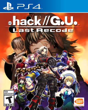 .HACK//G.U. LAST RECODE to Receive Physical Version for PlayStation 4!