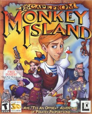 Escape-from-Monkey-Island-game-300x371 6 Games Like Monkey Island [Recommendations]