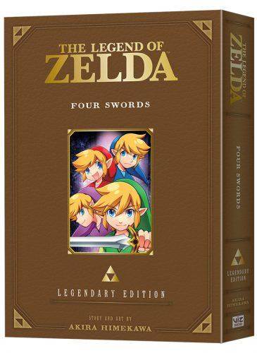 LegendOfZelda-LegendaryEdition05-FourSwords-3D-365x500 VIZ Media Debuts The Legend of Zelda: Four Swords - LEGENDARY EDITION