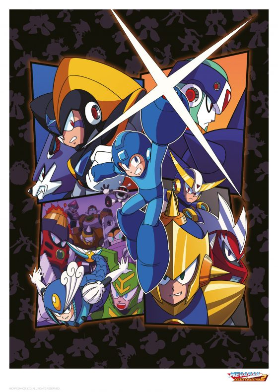Main-Image-560x790 Limited Edition Mega Man Art Print (just 995 Prints Worldwide) Unveiled!