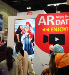 NTT-Solmare-560x419 NTT Solmare's Shall we date? and Moe! Ninja Girls stole over 10,000 fans' hearts at Anime Expo 2017