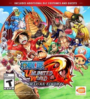 OPUWR_Digital_Front_DE_1-560x618 ONE PIECE: Unlimited World Red Deluxe Edition Launches For PlayStation 4 And Steam