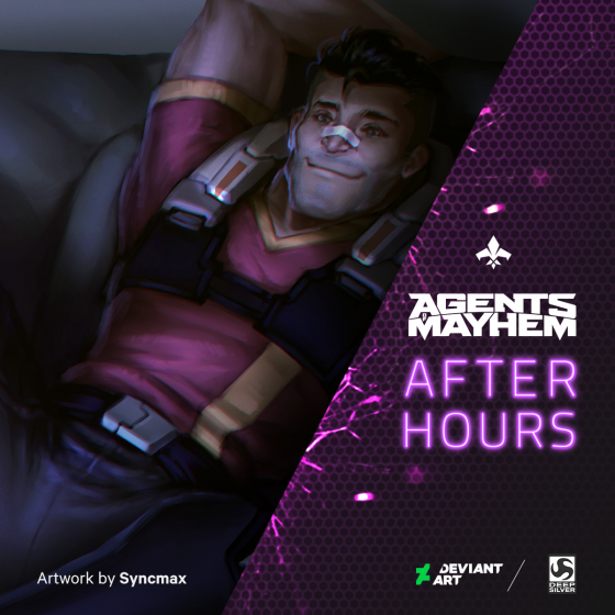 Redcard_01_1200x1200-560x560 Deep Silver and DeviantArt Collaborate to Launch Agents of Mayhem After Hours Art Series