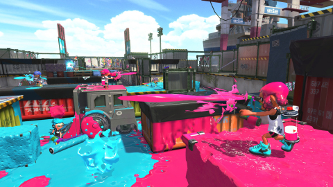 splatoonlogo Attention Inklings! Splatoon 2 is OUT NOW for Nintendo Switch! Go Go Go!