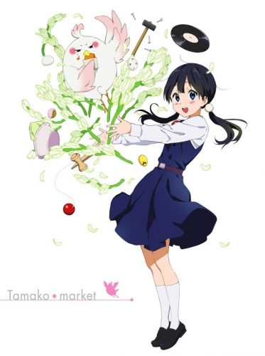 Tamako​-​Kitashirakawa​-​Tamako​-​Market-Wallpaper Top 10 Anime Characters Born on New Year's Eve