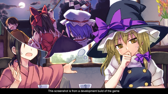 touhou Touhou Kobuto V: Burst Battle - Updated October Release Date