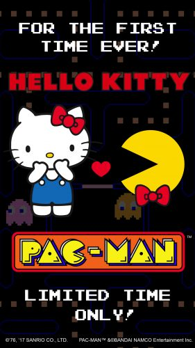 pacman_hellokitty_pr_feature_graphic_1024x500-560x273 Sanrio and BANDAI NAMCO Announce Hello Kitty ♥ PAC-MAN Mobile Game