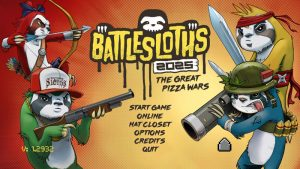 Battlesloths 2025: The Great Pizza Wars - PC/Steam Review