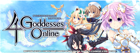 4gods-1 Cyberdimension Neptunia: 4 Goddesses Online Comes to PS4 this October, Steam -- Early 2018!