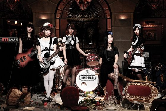 BAND-MAID-1-560x373 J-POP SUMMIT Announces Japanese Pop Culture Fun For S.F. - Sept. 9 & 10
