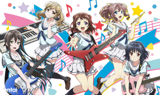 Bang-Dream-capture-Sentai-560x335 BanG Dream! to Get Special New Year's Treatment