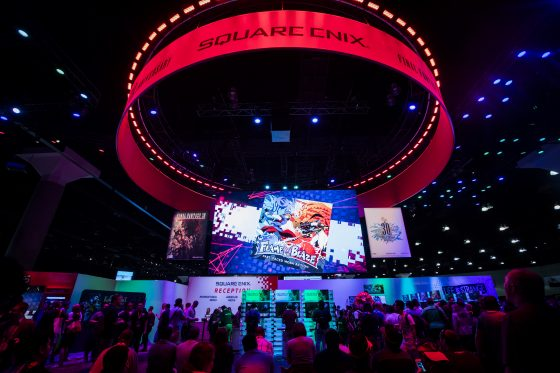 E3-Capcom-1-560x373 Kenwood Shines @ E3 w/Breathtaking Experiences for Capcom & Square Enix