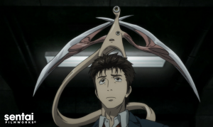 Parasyte-Wallpaper-750x421 Parasyte: The Maxim (Kiseijuu: Sei no Kakuritsu) Review & Characters - What Does It Mean to Be Human