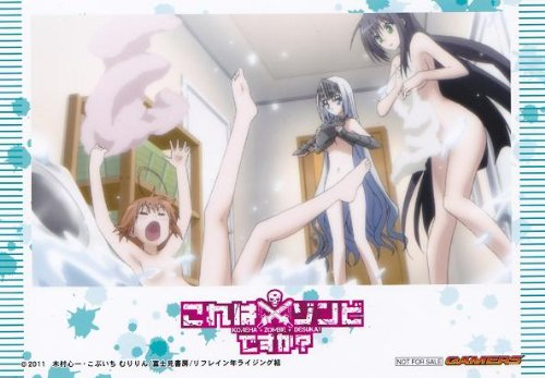 Kore-wa-Zombie-Desu-ka-Wallpaper-1-386x500 [Thirsty Thursday] Top 5 Kore wa Zombie Desu ka? Ecchi Scenes