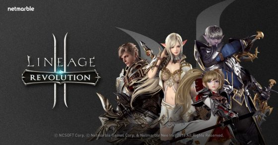 Lineage2-Revolution_Main-Image-560x293 Netmarble's Lineage2 Revolution Tops The Grossing Chart on Japan's App Store