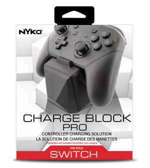Power Up Your Switch Joy Con and Pro Controllers with Charge Block