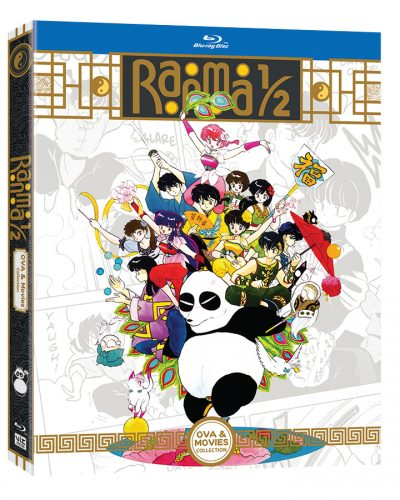Ranma-OVAMovies-Blu-ray-3D-400x500 RANMA ½ Anime OVA & MOVIE COLLECTION Debuts From VIZ Media!