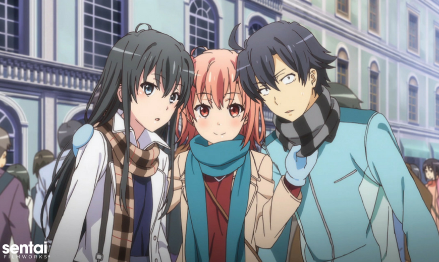 Yahari-Ore-no-Seishun-Love-Comedy-wa-Machigatteiru-SNAFU-wallpaper-700x394 Top 10 Romance Anime [Updated Best Recommendations]