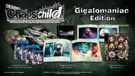 chaoschild-560x315 Rice Digital Reveals  CHAOS;CHILD Gigalomaniac Collector's Edition!