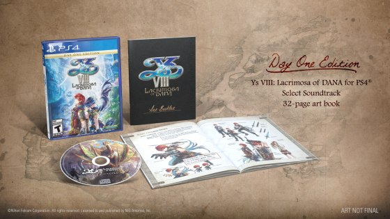 "logoyss-560x294 Day One Edition for PS4 - Ys VIII: Lacrimosa of Dana - ""The Explorers of Seiren"" and the Day One Edition!"