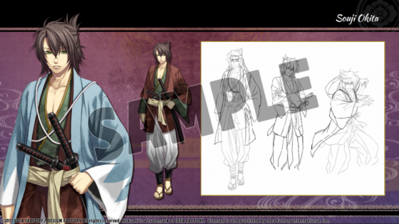 haku-2 Hakuoki: Kyoto Winds Out Today with Weeklong Discount + Deluxe Pack!